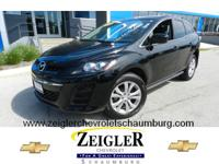 It's hard to resist this black 2010 Mazda CX-7! It