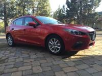Soul red, fully loaded manual Mazda 3 i Grand Touring