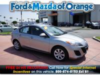 Mazda3 i Sport, Mazda Certified, 4D Sedan, 2.0L