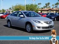 Mazda6 i Touring, 5-Speed Automatic with Manual Mode,