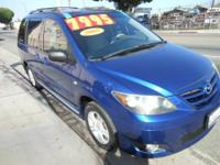 Selling my aunts Mazda mini van Clean in and out for