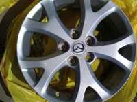 im selling rims for a mazda3 or honda prelude, mazda