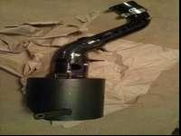 Used Corksport intake with turbo inlet pipe and a