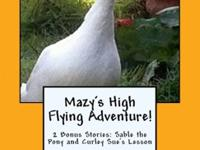 Mazy has imagined flying alongside flocks of Canadian