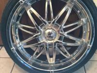 Mazzi Universal (5 lug) 20 inch low profile rims with