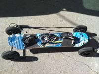 MBS ATOM 95 X F-1 ALL TERRAIN MOUNTAINBOARD!!!  The