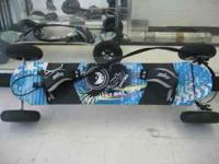 2010 MBS Mountainboard Atom 95X Has a cable brake like