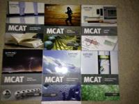 Full Set of Kaplan prep course for the MCAT. The books