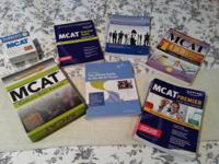 I have for sale numerous MCAT research study books