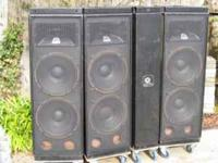 speakers pa Music instruments for sale in California - new and used