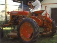 Up for sale is a Farmall Cub. It has been in the family