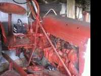 This is a McCormick Farmall Tractor 50 Model Rebuild