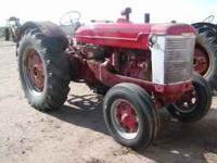 I have for sale a McCormick Deering W-9. This Tractor
