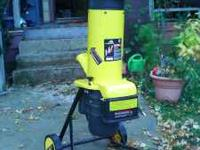 McCulloch Electric Chipper/Shredder, brand new, only