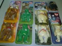 McDonald's Beanie Babies in Original Plastic Packaging.