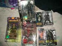 I have the following McFarlane`s action figures and