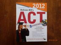 New McGraw Hill's ACT Practice book! Includes CD-ROM.