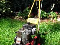 McLane 3.5 HP Edger & Trimmer. # 127cc Briggs &