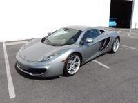 This is a McLaren MP4-12C for sale by CNC Motors. The