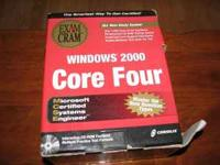 MCSE Windows 2000 Exam Cram, Core Four- 4 books $40 for