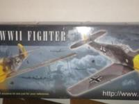 ME-109 War Bird of WWII Model Plane Kit. See images for