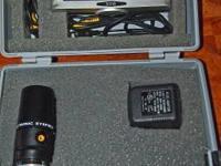 "Meade # 902. 1-1/4"" Electronic Eyepiece 07166. 5"""