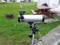 Meade 114EQ reflector telescope....very good condition