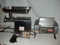 anvil corp. comercial meat grinder 2.5 h.p. 110 power,
