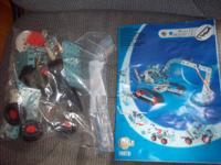 For sale is a slightly utilized meccano multi-model kit