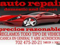 AUTO REPAIR IN GENERAL, TUNE UP .,AC , RADIATORS,