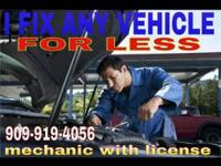 MOBILE MECHANIC -WE COME TO YOU AND FIX. UR CAR OR