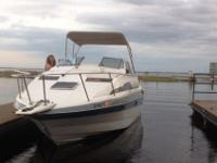 Hey there, I have a 1986 Bayliner 245 (24.5 ft) cruiser