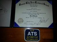 Certificated in Automotive Technology   Automotive,