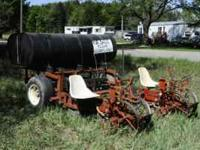 Mechanical Transplanter Company 2 Row, Trailer Type