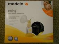 Medela Swing electric breast pump Only used for one day