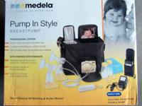 Medela Breastpump #1 choice of hospitals. Barely use