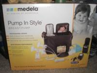 I have a barely used Medela double pump breastpump for