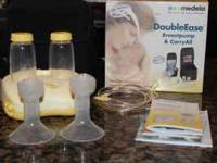 Medela DoubleEase Breat Pump and Carry All - works