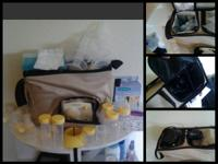 Medela dumble beast pump with lots of extras. Has 3
