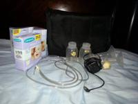 Hello I have a Medela pump in design breast pump with