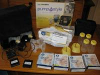 This breast pump was used for 2 months once a day then