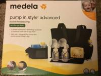 Medela Pump in style advanced (barely used still in