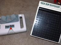 Medi-Rub Foot Massager & HOMedics Shogun Shiatsu