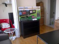 Small media stand/bookcase for sale and in good