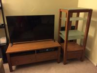 - $50 each, or $80 for both- Target brand media table