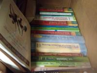 Box of medical books for rn & lpn school @ 22 books