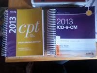 I have 2 books ,1 is a 2013 ICD-9-CM professional