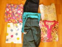 Lots of scrubs for sale-too numerous in the closet and