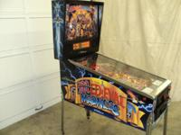 #1 MOST DESIRED COLLECTIBLE PINBALL  THIS IS ONE NICE