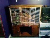 large iguana cage for sale. my iguana used it but she